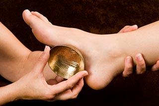 massage pied détente - bol kansu