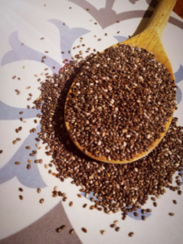 Graines de Chia, bonnes pour la santé